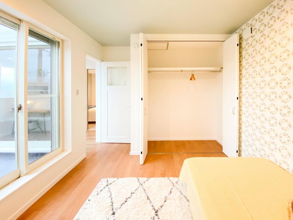 ルミナージュ岸和田第3段モデルハウス バルコニー付子供部屋