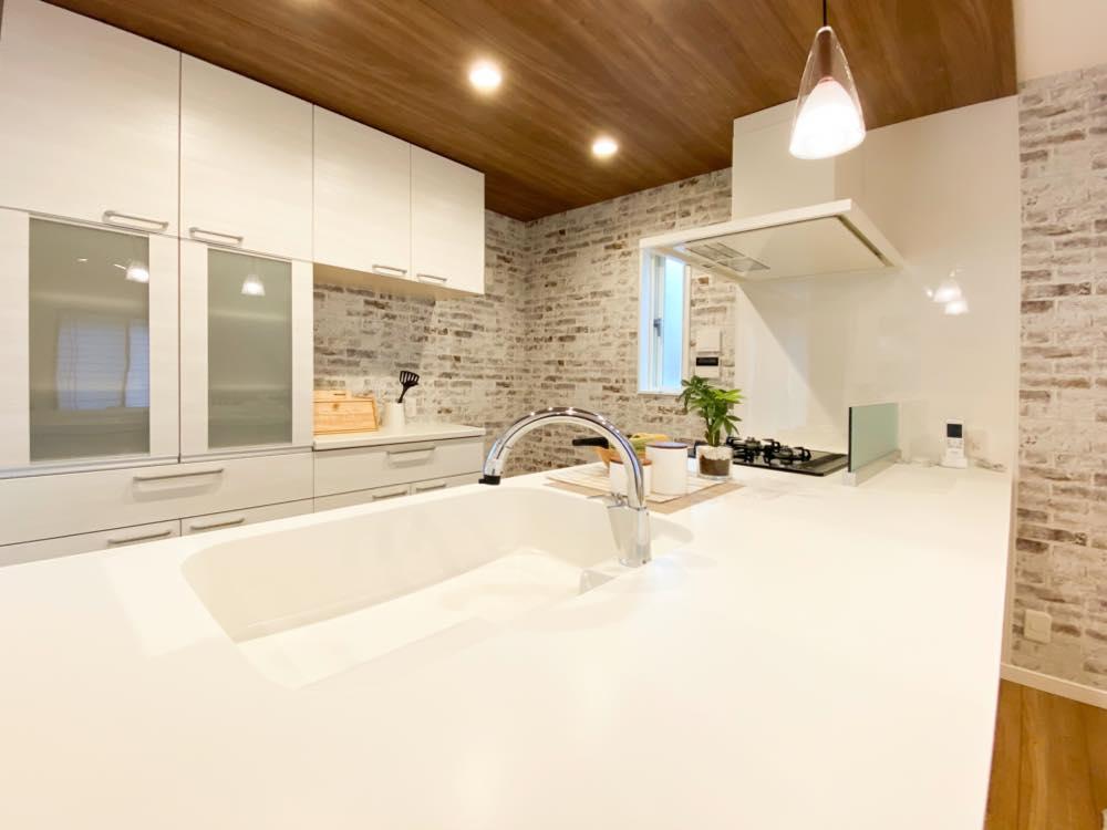 ルミナージュ岸和田第3段モデルハウス キッチン