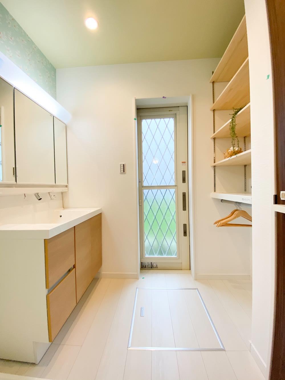 ルミナージュ岸和田第3段モデルハウス 洗面室