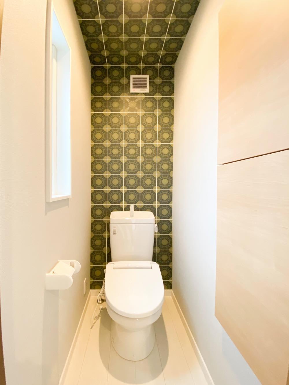 ルミナージュ岸和田第3段モデルハウス 2Fトイレ