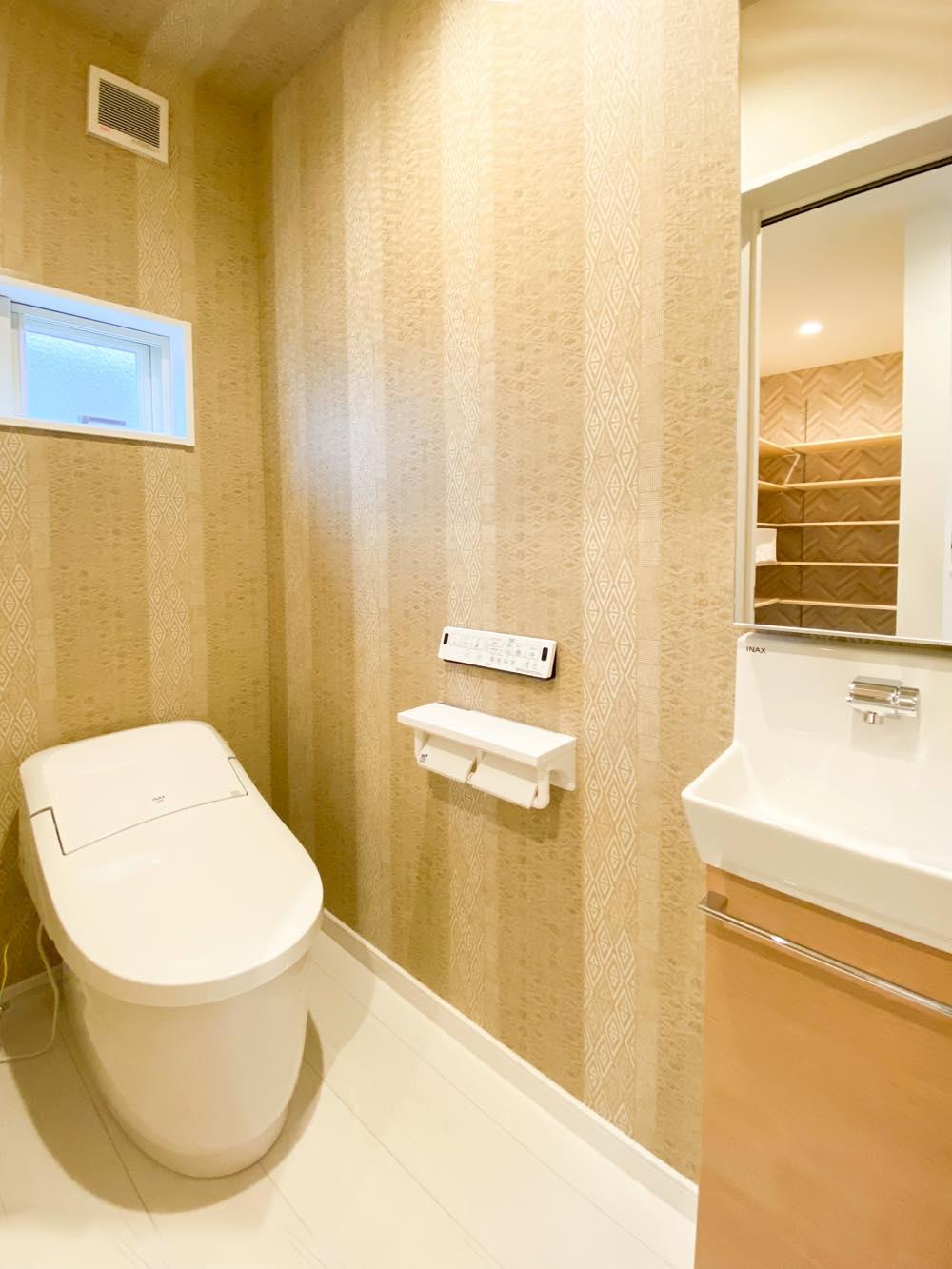 ルミナージュ岸和田第3段モデルハウス 1Fトイレ
