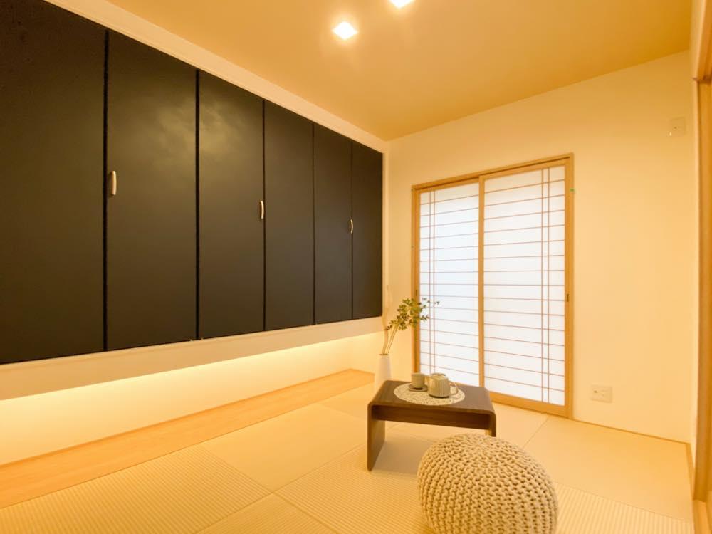 ルミナージュ岸和田第3段モデルハウス 寛ぎの和室