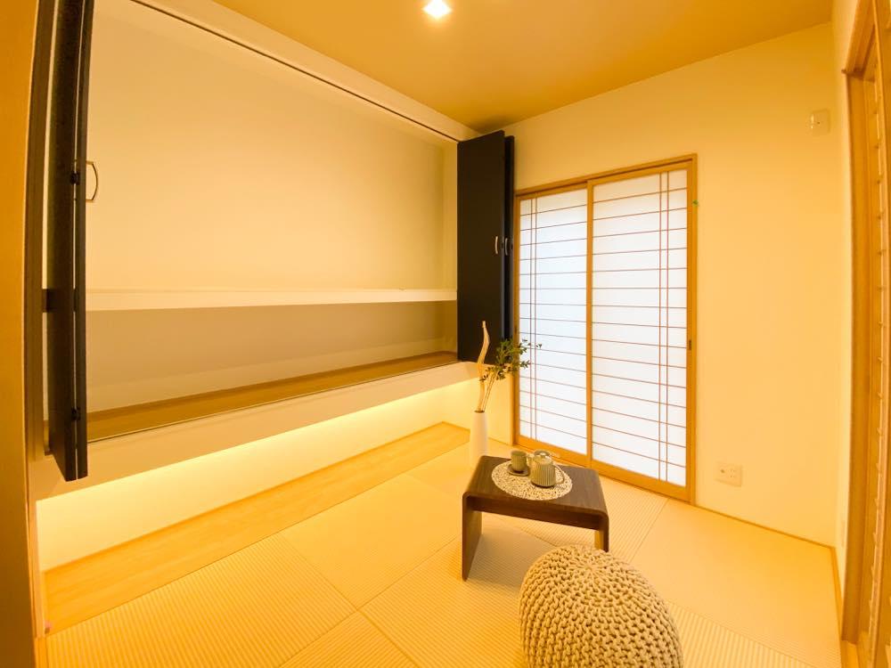ルミナージュ岸和田第3段モデルハウス 和室収納
